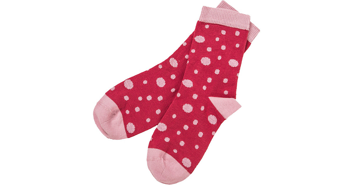 Socken , Organic Cotton rosa Gr. 19-22 Mädchen Kleinkinder