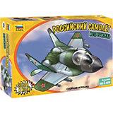 Сборная модель Российский самолёт истребитель