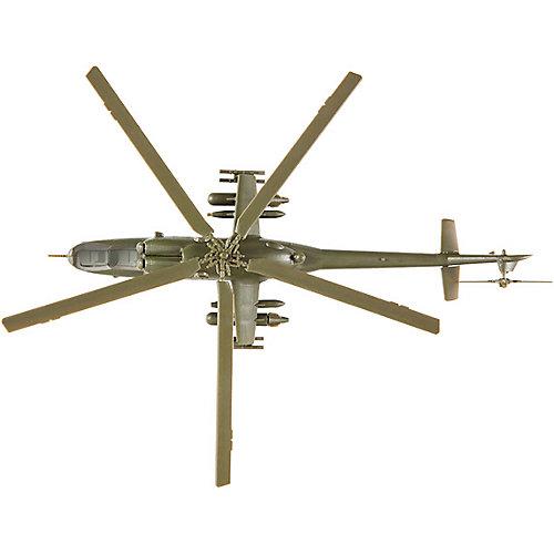 Сборная модель  Советский ударный вертолёт Ми-24В от Звезда