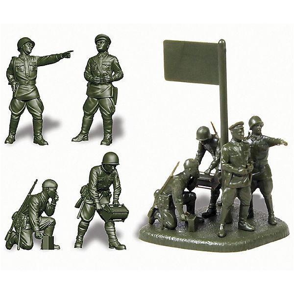 Сборная модель  Советский штаб 1941-1943гг