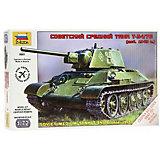 Сборная модель  Советский средний танк Т-34/76 (обр 1940г)