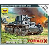 Сборная модель  Немецкий лёгкий танк Т-38