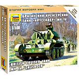 """Сборная модель  Британский крейсерский танк """"Крусер"""""""