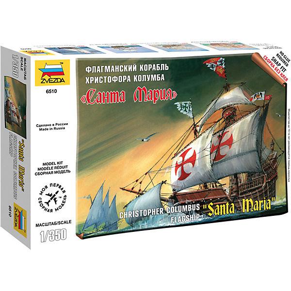 """Сборная модель  Корабль """"Санта Мария"""""""