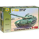 Сборная модель  Сов. Танк Т-72А