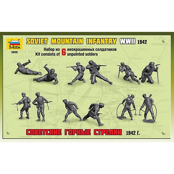 Сборная модель  Советские горные стрелки