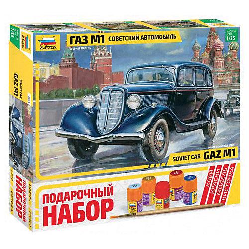 Сборная модель  Автомобиль ГАЗ-М1 от Звезда