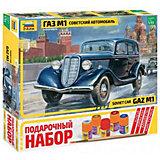 Сборная модель  Автомобиль ГАЗ-М1