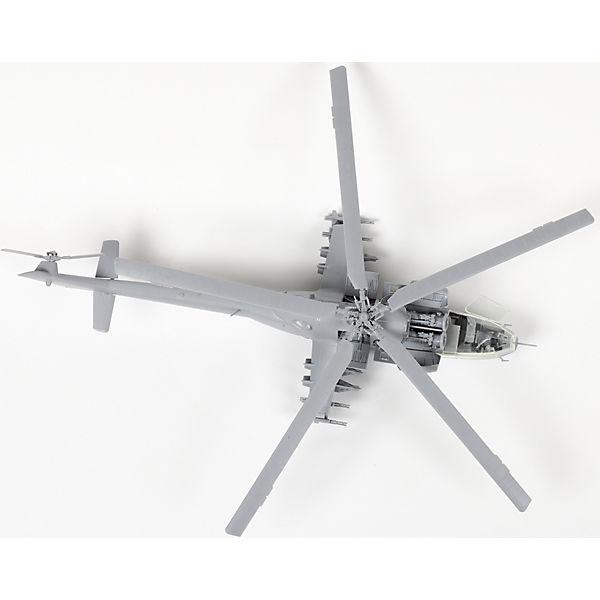 Сборная модель  Советский ударный вертолет Ми-24А