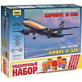 """Сборная модель  Пасс. авиалайнер """"Аэробус А-320"""""""