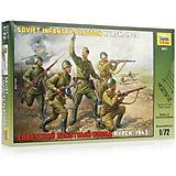 Сборная модель  Советский пехотный взвод