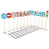 """Игровой набор Краснокамская игрушка """"Знаки дорожного движения"""""""