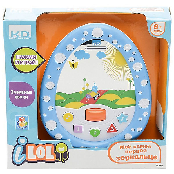 "Развивающая игрушка 1Toy ""Kidz Delight"" Моё первое зеркальце"