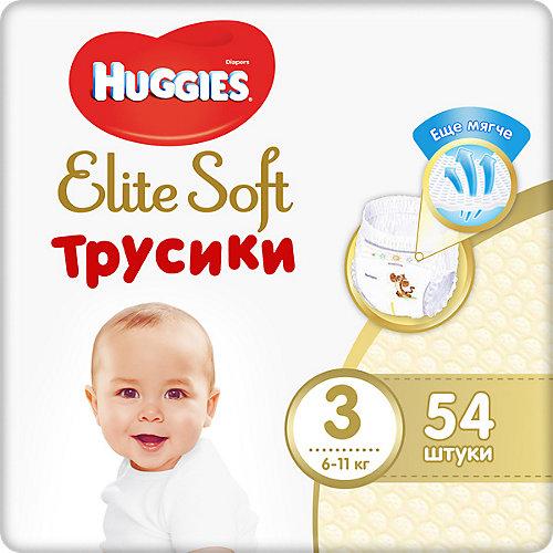 Трусики-подгузники Huggies Elite Soft M (3), 6-11 кг., 54 шт. от HUGGIES