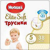 Трусики-подгузники Huggies Elite Soft XL (5), 12-17 кг., 38 шт.