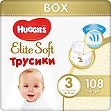 Трусики-подгузники Huggies Elite Soft 3, 6-11 кг, 108 шт.