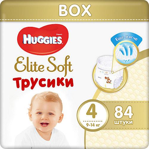 Трусики-подгузники Huggies Elite Soft 4, 9-14 кг, 84 шт. от HUGGIES