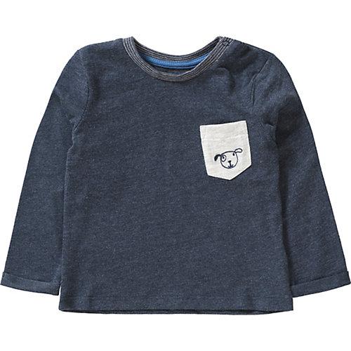 TOM TAILOR Baby Langarmshirt , blau Gr. 92 Jungen Kleinkinder   04060463001293