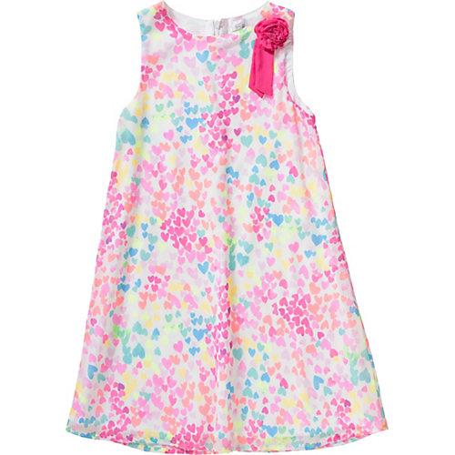 Kinder Kleid plissiert, Herz Gr. 116 Mädchen Kinder | 04056178696541