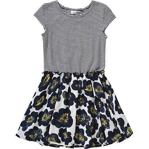 Kinder Jerseykleid, Blumen Gr. 128 Mädchen Kinder | 04056178692338