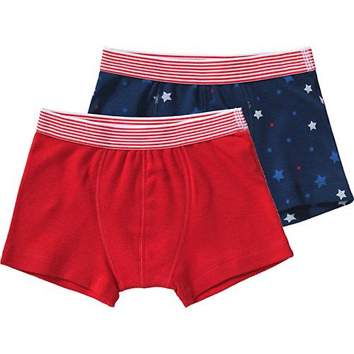PETIT BATEAU Boxershorts Doppelpack , Sterne Gr. 152 Jungen Kinder | 03102273482525