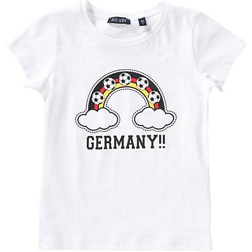 Blue Seven T-Shirt , Fußball Gr. 122 Mädchen Kinder   04055852116092