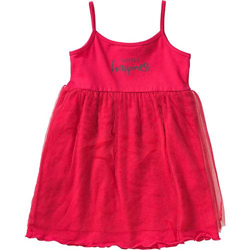 Blue Seven Kinder Jerseykleid mit Tüllrock Gr. 122 Mädchen Kinder   04055852024236