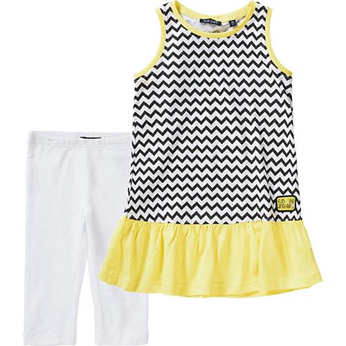 Blue Seven Kinder Set Jerseykleid + Caprileggings Gr. 110 Mädchen Kinder | 04055852003897