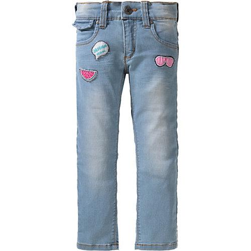 Blue Seven Jogg-Jeans mit Patches Gr. 98 Mädchen Kleinkinder   04055852082335