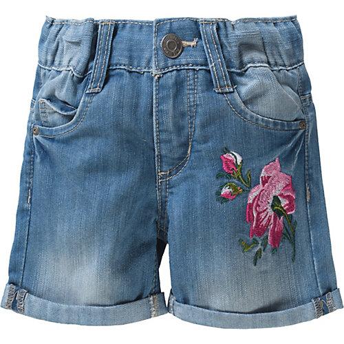 Blue Seven Jeansshorts mit Stickerei Gr. 104 Mädchen Kleinkinder | 04055852082496