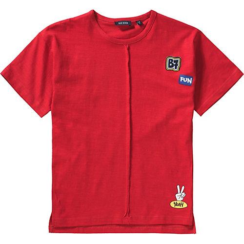 Blue Seven T-Shirt mit Patches Gr. 110 Jungen Kinder   04055852036314