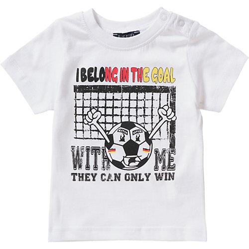 Blue Seven Baby T-Shirt , Fußball Gr. 74 Jungen Baby   04055852099005