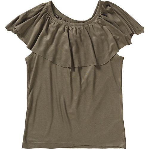 Blue Seven T-Shirt mit Carmen-Ausschnitt Gr. 176 Mädchen Kinder   04055852025820