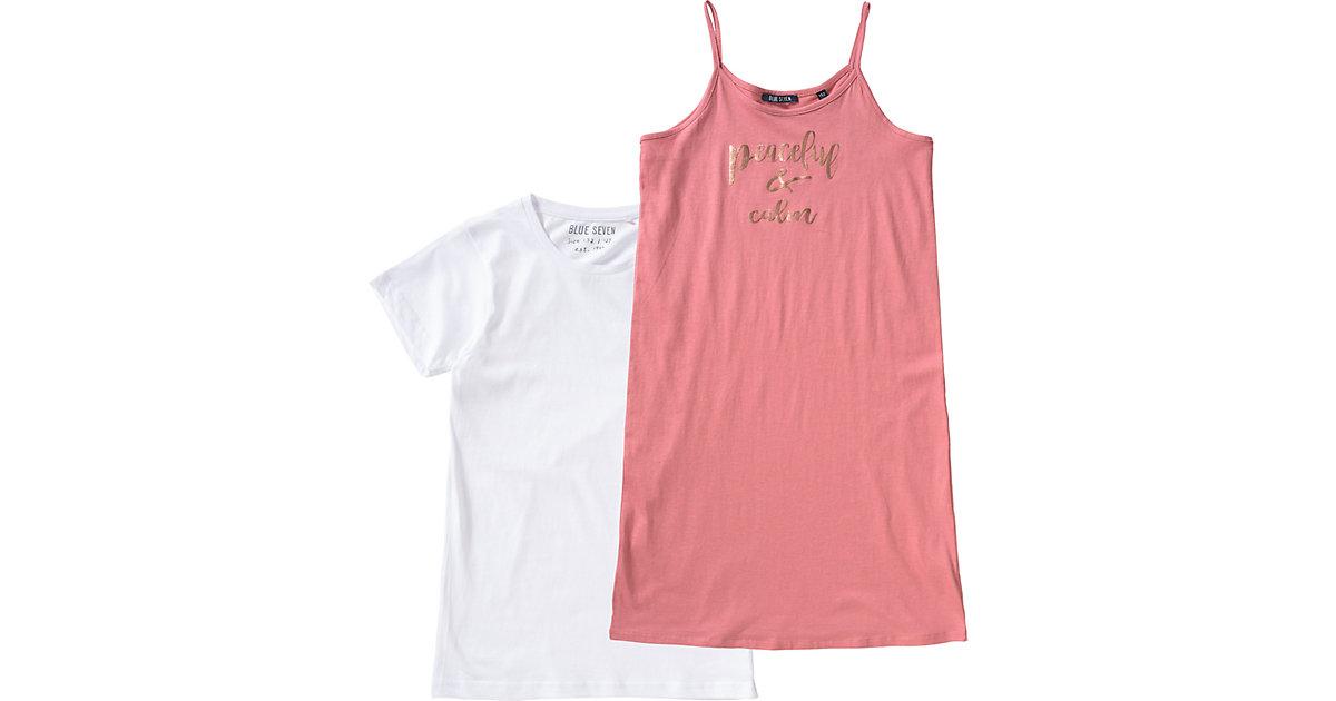 Kinder Set Jerseykleid + T-Shirt Gr. 152 Mädchen Kinder