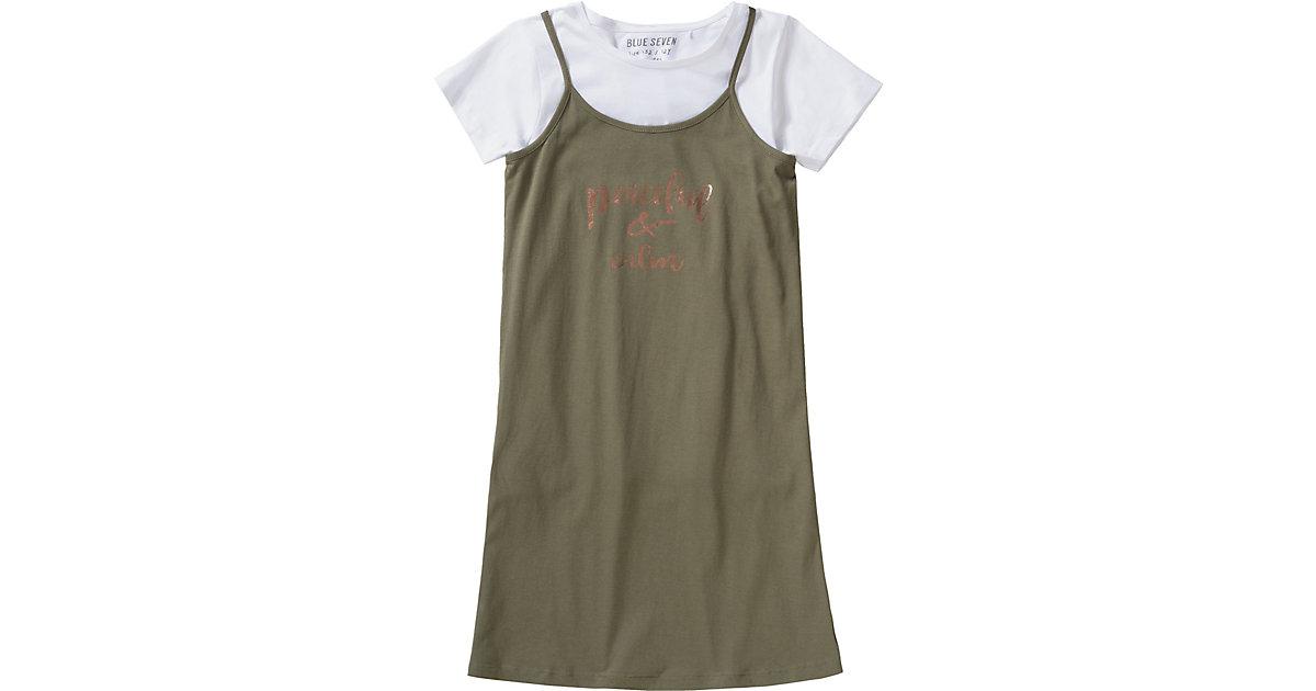 Kinder Set Jerseykleid + T-Shirt Gr. 176 Mädchen Kinder