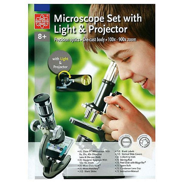 Микроскоп Edu-Toys 100*300*900