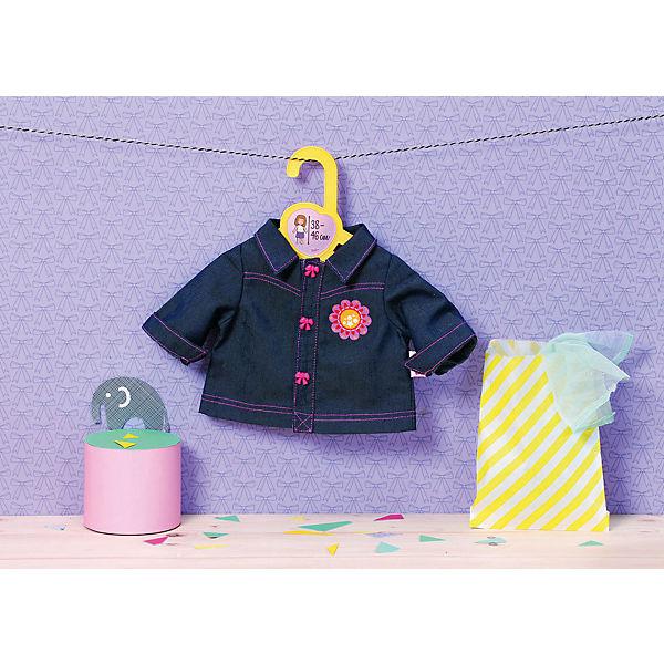 "Одежда для кукол Zapf Creation ""Baby Born"", джинсовка"