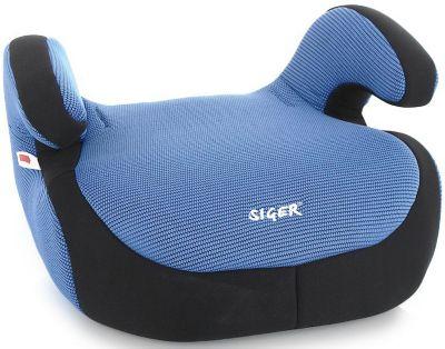 Автокресло-бустер Siger Fix 22-36 кг синий