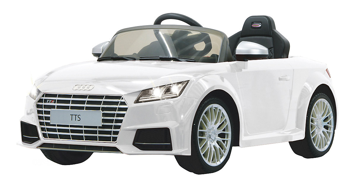 Jamara · Jamara - Ride-on Audi TTS Roadster weiß 2,4GHz
