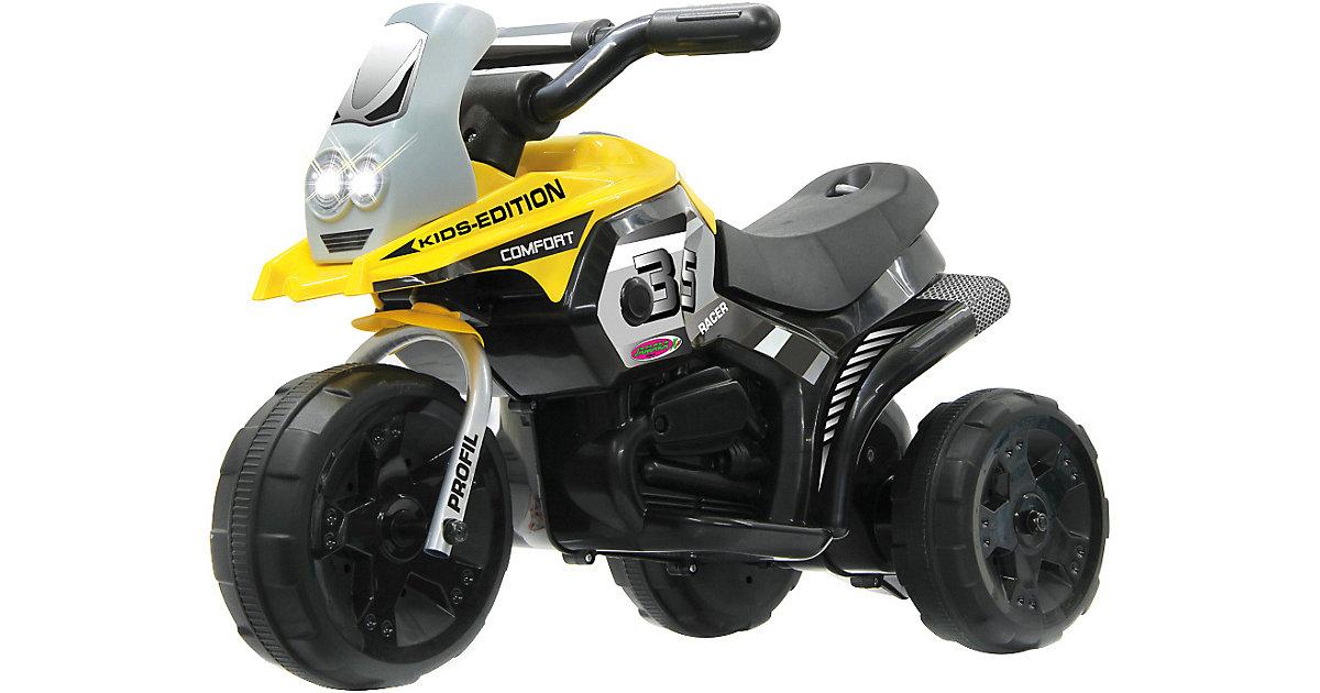 Ride-on E-Trike Racer gelb
