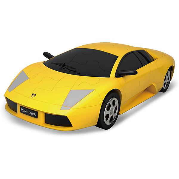 3Д-пазл Автомобиль (желтый)