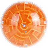 Головоломка шар-лабиринт (оранжевый)