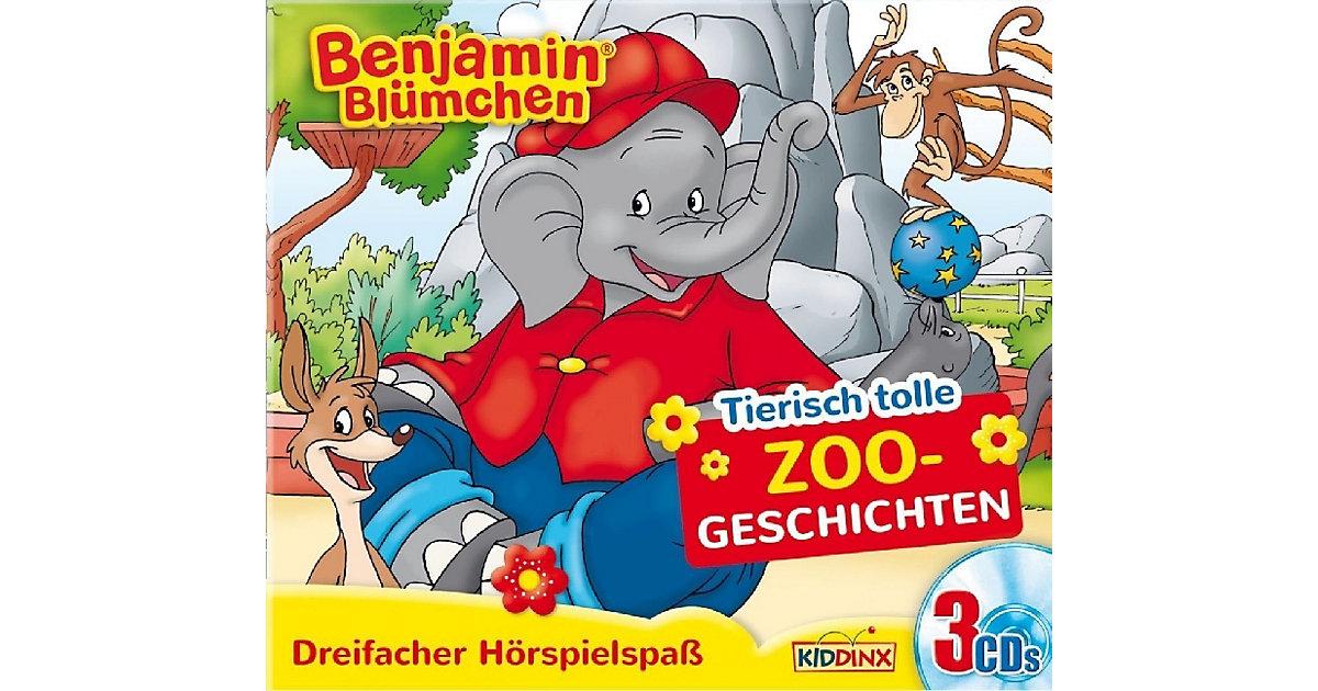 CD Benjamin Blümchen - Tierisch tolle Zoogeschi...