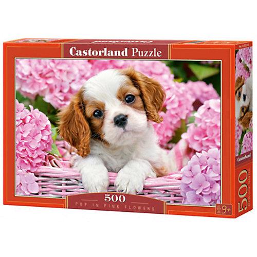 """Пазл Castorland """"Щенок в цветах"""" 500 деталей от Castorland"""