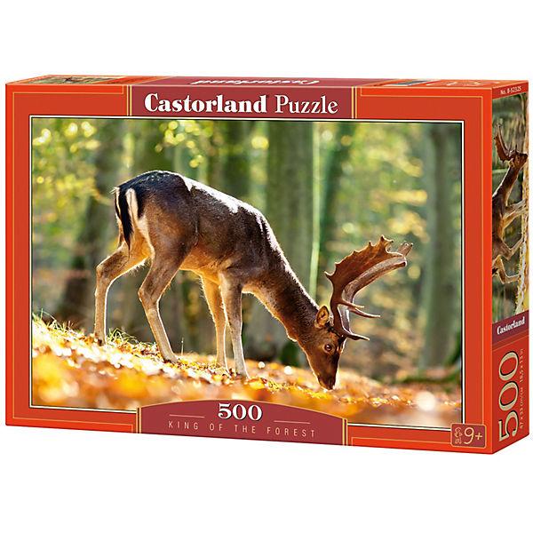 """Пазл Castorland """"Король леса"""" 500 деталей"""