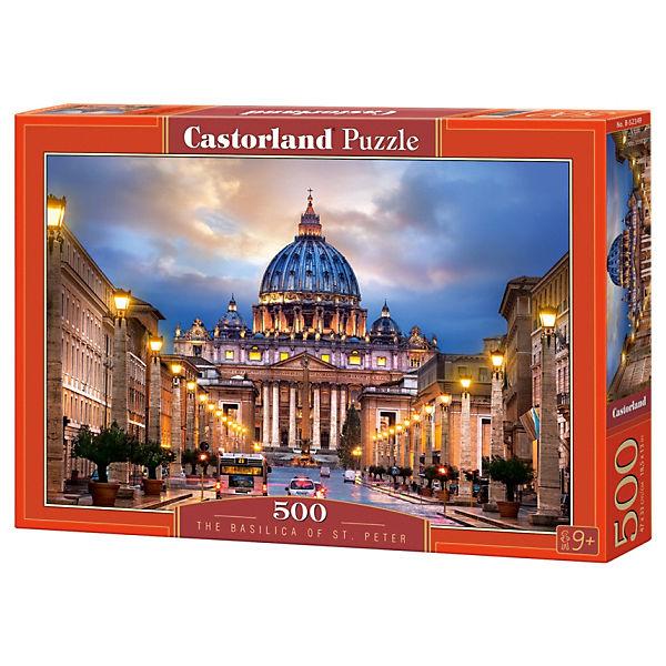 """Пазл Castorland """"Собор Святого Петра"""" 500 деталей"""
