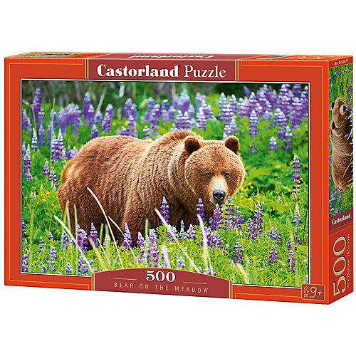 """Пазл Castorland """"Медведь на лугу"""" 500 деталей от Castorland"""