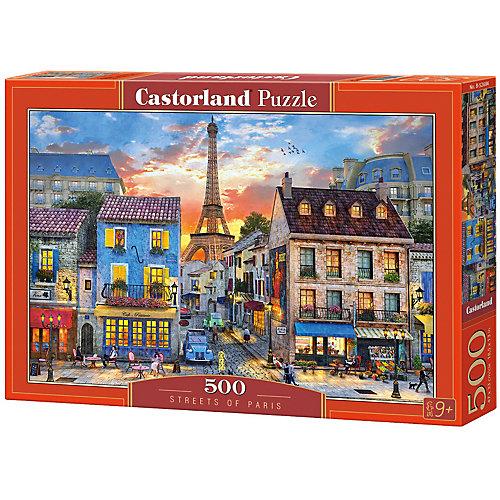 "Пазл Castorland ""Улицы Парижа"" 500 деталей от Castorland"