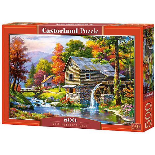 "Пазл Castorland ""Старая мельница"" 500 деталей от Castorland"