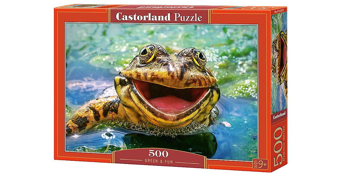 Puzzle 500 Teile Spaß im Grünen